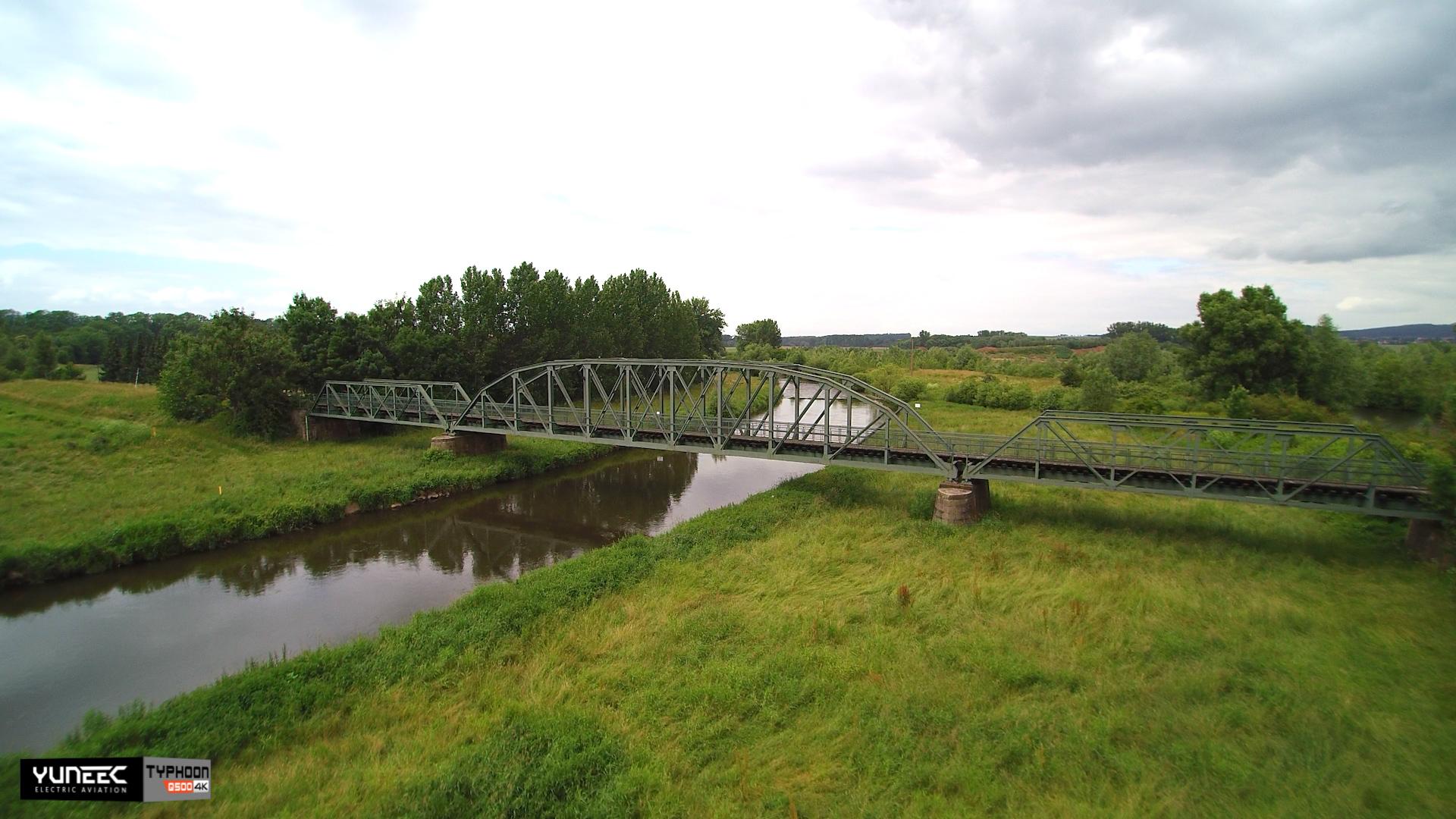 Eisenbahnbrücke Gronau