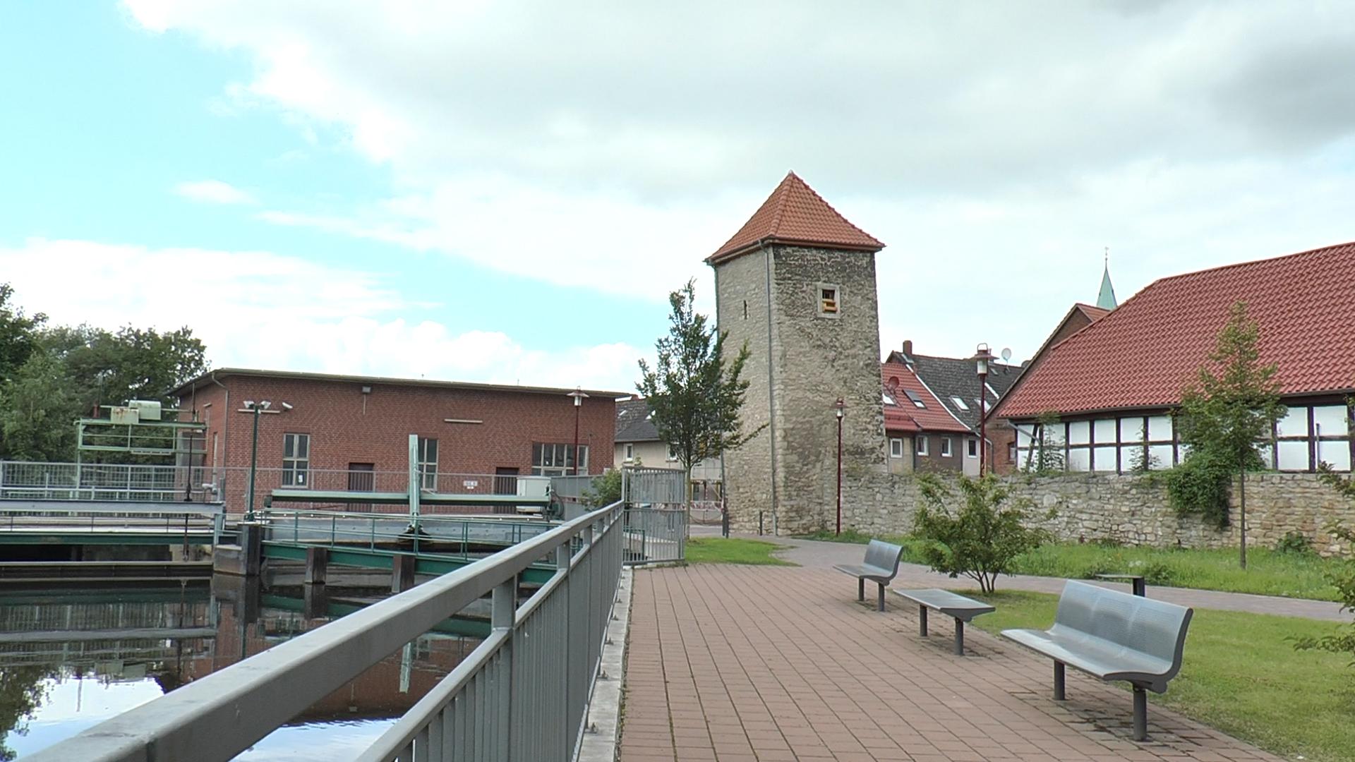 Schiefer Turm von Gronau