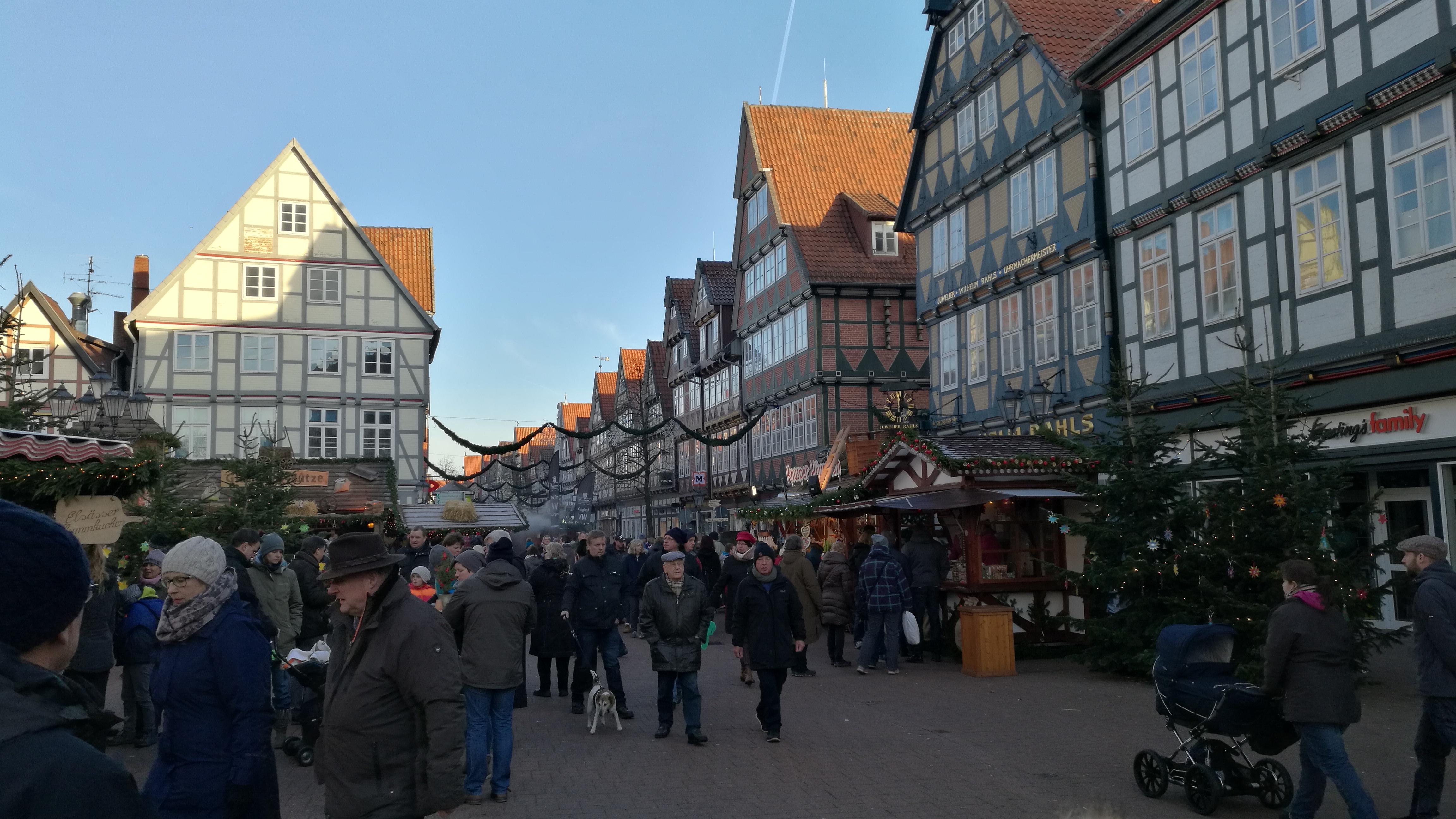 Weihnachtsmarkt in Celle